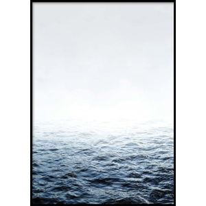 Nástěnný plakát v rámu QUIET/PLACE, 40x50cm
