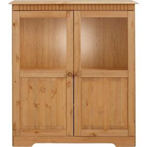 Dvoudveřová skříňka z masivního borovicového dřeva Støraa Caroline