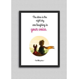 Obraz North Carolina Scandinavian Home Decors Little Prince Quote V10, 33 x 43 cm