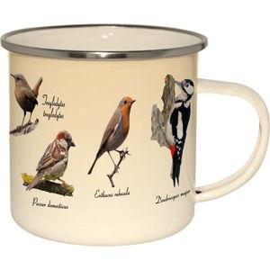 Smaltovaný hrnek Esschert Design Birdies