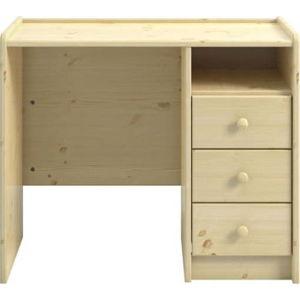 Pracovní stůl z borovicového dřeva Steens For Kids