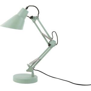 Zelená železná stolní lampa Leitmotiv Fit