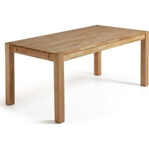 Jídelní rozkládací stůl z dubového dřeva La Forma, 140 x 90 cm