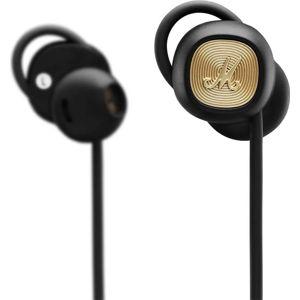 Černá bezdrátová sluchátka Marshall Minor II