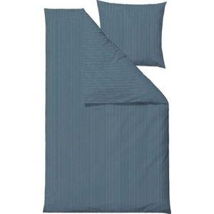 Modré povlečení na jednolůžko z ranforce bavlny SödahlCommon,140x 220 cm