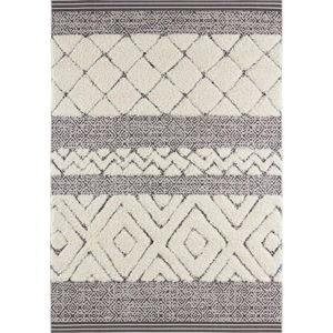 Krémově černý koberec Mint Rugs Todra, 120 x 170 cm