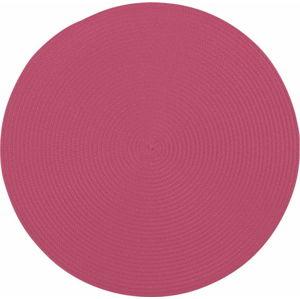 Růžové kulaté prostírání Tiseco Home Studio Round, ø38cm