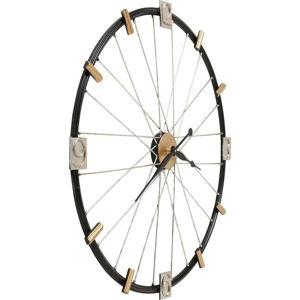 Nástěnné hodiny Kare Design Spoke Wheel, průměr80cm