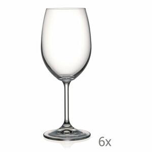 Sada 6 sklenic na víno Crystalex Lara,350ml