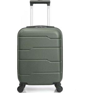 Zelený cestovní kufr na kolečkách Hero Santiago,30l