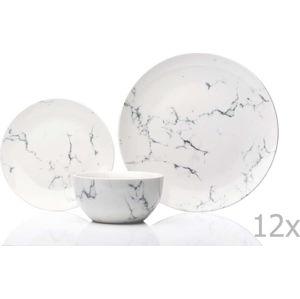 12dílná sada nádobí Sabichi Marble