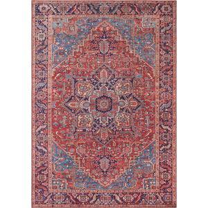 Červený koberec Nouristan Amata, 200 x 290 cm