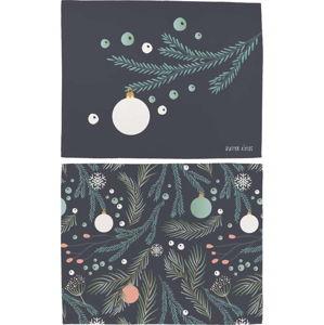 Vánoční prostírání z bavlny Butter Kings Christmas Deco,45x35cm