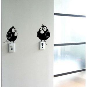 Dekorativní nálepka na stěnu Two Birds