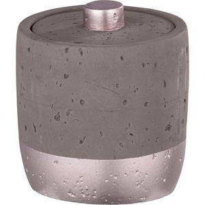 Šedý betonový úložný box Wenko Mauve