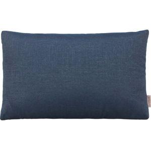 Tmavě modrý bavlněný povlak na polštář Blomus, 60x40cm