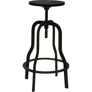 Tmavě hnědá barová stolička RGE Vegas, výška 66cm