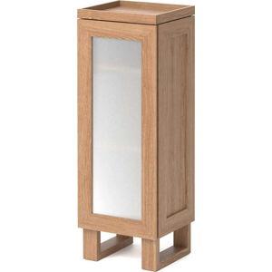Koupelnová skříňka z dubového dřeva Wireworks Mezza