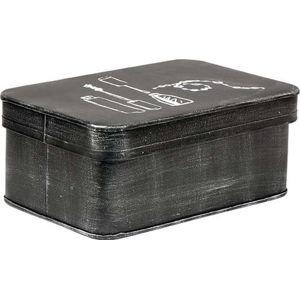 Černý kovový box na kosmetiku LABEL51