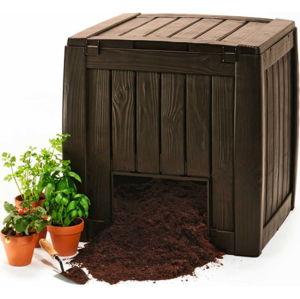Hnědý zahradní kompostér Keter