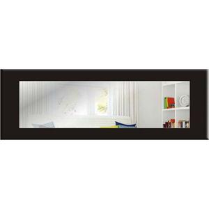 Nástěnné zrcadlo s černým rámem Oyo Concept Eve,120x40cm