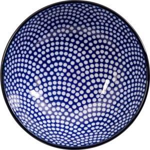 Modro-bílý talíř Tokyo Design Studio Nippon Dot, ø9,5cm