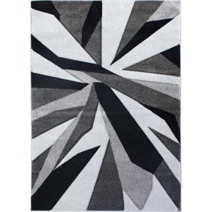 Černošedý koberec Flair Rugs Shatter Black Grey, 120x170cm