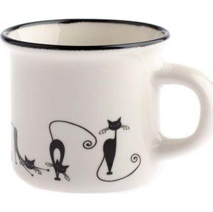 Porcelánový hrnek Dakls Cats Emily, 75ml