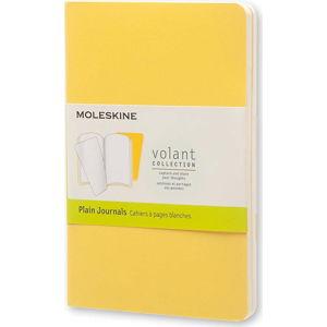 Žlutý zápisník Moleskine Volant, 80stran