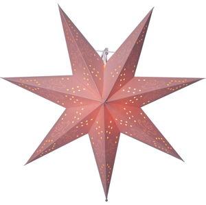 Červená světelná dekorace Best Season Romantic Star, výška 54 cm