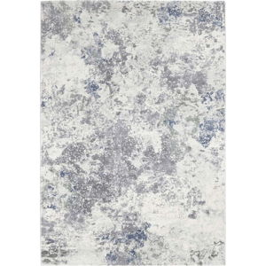 Světle modro-krémový koberec Elle Decor Arty Fontaine, 80 x 150 cm