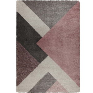 Růžový koberec Flair Rugs Zula, 160 x 230 cm