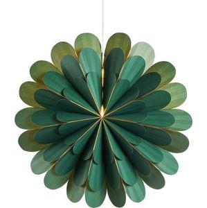 Zelená závěsná světelná dekorace Markslöjd Marigold,výška45cm