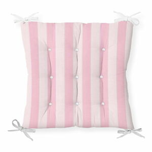 Podsedák s příměsí bavlny Minimalist Cushion Covers Cute Stripes, 40 x 40 cm