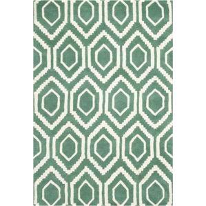 Vlněný koberec Essex 121x182 cm, zelený