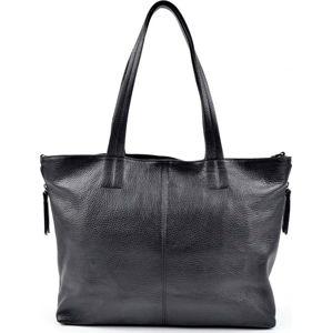 Černá kožená kabelka Roberta M Ambra