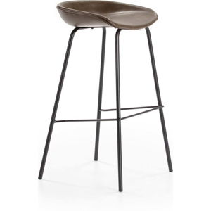 Hnědá barová židle Marckeric Eddie