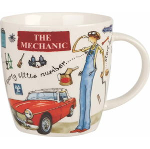 Hrnek z porcelánu Churchill China At Your Leisure The Mechanic, 400 ml