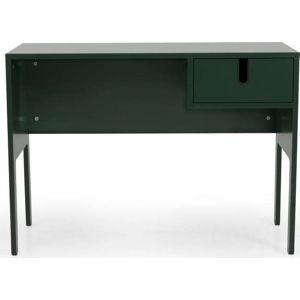Tmavě zelený pracovní stůl Tenzo Uno