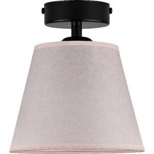 Světle růžové stropní svítidlo Sotto Luce IRO Parchment, ⌀16cm