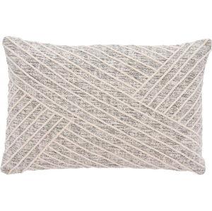 Béžový bavlněný polštář Södahl Amanda, 40 x 60 cm