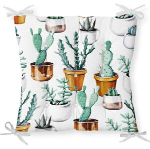 Podsedák s příměsí bavlny Minimalist Cushion Covers Cactus in Pot, 40 x 40 cm