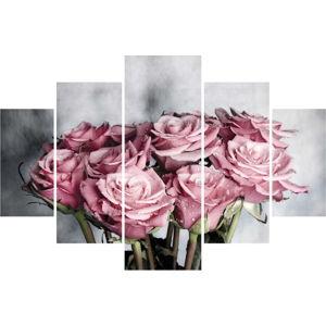 5dílný obraz Rosemary