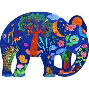 Dětské puzzle se 150 dílky Djeco Elephant