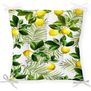 Podsedák s příměsí bavlny Minimalist Cushion Covers Lemon Tree, 40 x 40 cm