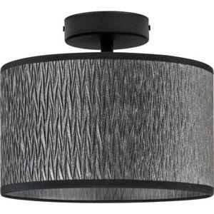 Černé stropní svítidlo Bulb Attack Once, ⌀ 25 cm