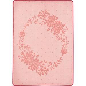 Dětský růžový koberec Zala Living Blossom, 100 x 140 cm