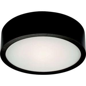 Černé kruhové stropní svítodlo Lamkur Plafond, ø 27 cm