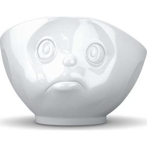 Bílá porcelánová rozmrzelá miska 58products