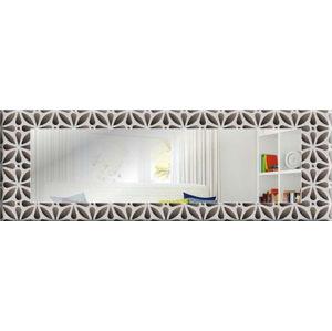 Nástěnné zrcadlo Oyo Concept Flower Petals,120x40cm